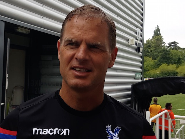 VIDEO: Frank de Boer opens up about first few weeks in